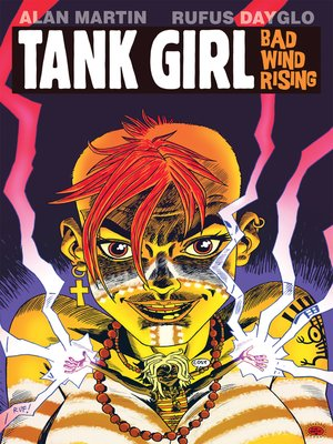 cover image of Tank Girl: Bad Wind Rising (2010), Issue 3
