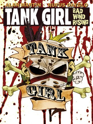 cover image of Tank Girl: Bad Wind Rising (2010), Issue 4
