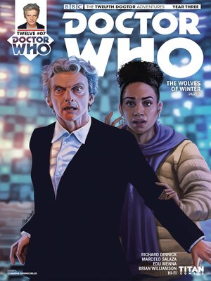 cover image of Doctor Who: The Twelfth Doctor, Year Three (2017), Issue 8
