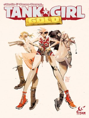 cover image of Tank Girl: Gold (2016), Issue 1