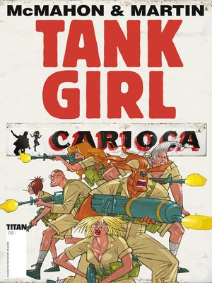 cover image of Tank Girl: Carioca (2012), Issue 5
