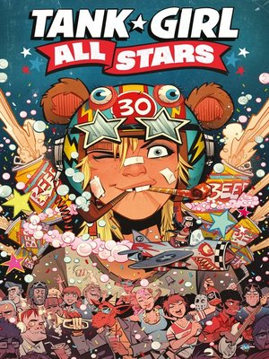 cover image of Tank Girl All Stars