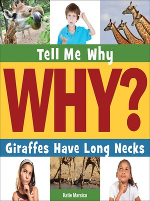 cover image of Giraffes Have Long Necks