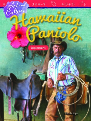 cover image of Art and Culture: Hawaiian Paniolo: Expressions