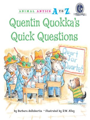 cover image of Quentin Quokka's Quick Questions
