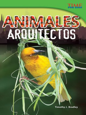 cover image of Animales arquitectos (Animal Architects)