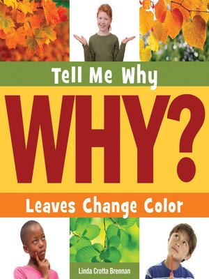 cover image of Leaves Change Color