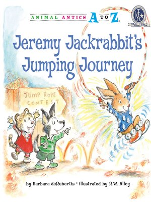 cover image of Jeremy Jackrabbit's Jumping Journey