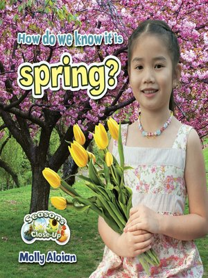 cover image of How do we know it is spring?