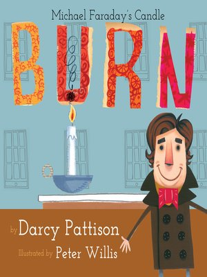 cover image of Burn: Michael Faraday's Candle
