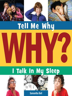 cover image of I Talk in My Sleep