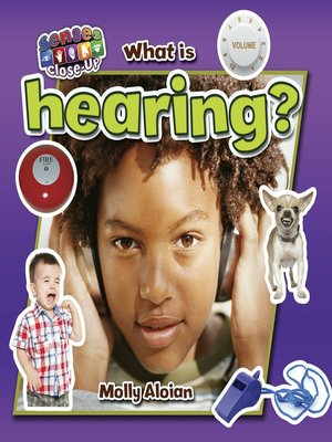cover image of What is hearing?