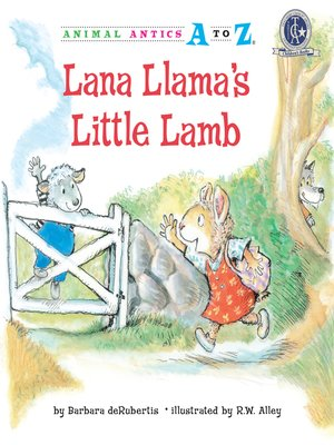 cover image of Lana Llama's Little Lamb