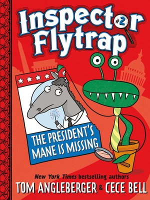 cover image of Inspector Flytrap in The President's Mane Is Missing