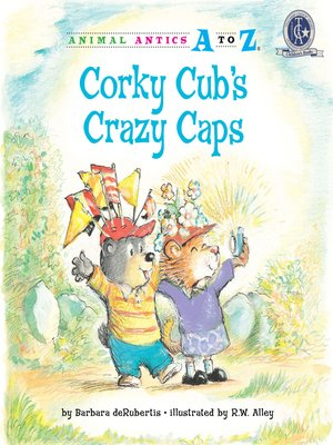 cover image of Corky Cub's Crazy Caps