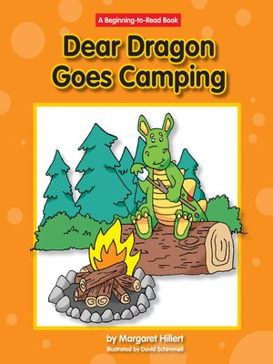cover image of Dear Dragon Goes Camping