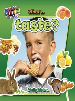 cover image of What is taste?