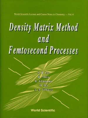 cover image of Density Matrix Method and Femtosecond Processes