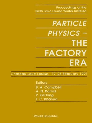 cover image of Particle Physics