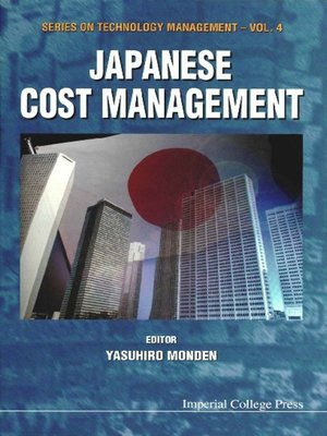 cover image of Japanese Cost Management