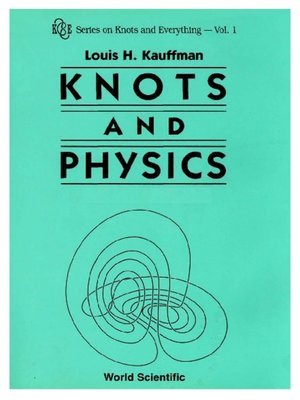 cover image of Knots and Physics