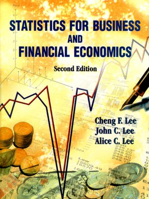 cover image of Statistics For Business and Financial Economics ()