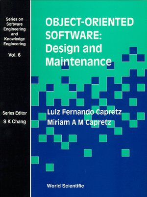 cover image of Object-Oriented Software: Design and Maintenance