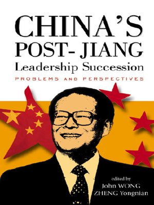 cover image of China's Post-jiang Leadership Succession