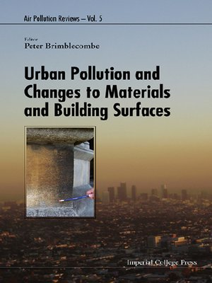 cover image of Urban Pollution and Changes to Materials and Building Surfaces