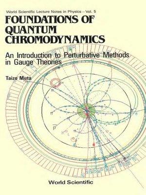 cover image of Foundations of Quantum Chromodynamics