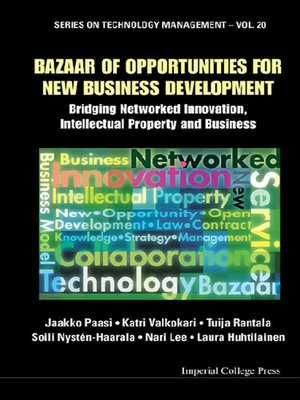 cover image of Bazaar of Opportunities For New Business Development