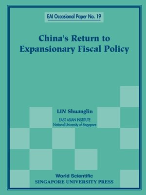 cover image of China's Return to Expansionary Fiscal Policy