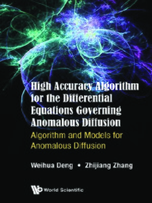 cover image of High Accuracy Algorithm For the Differential Equations Governing Anomalous Diffusion