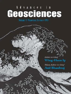 cover image of Advances In Geosciences (A 4-volume Set)--Volume 7