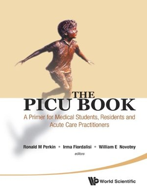 cover image of The PICU Book