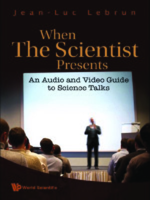 cover image of When the Scientist Presents