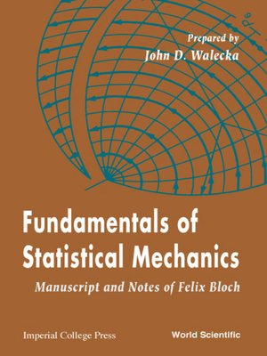 cover image of Fundamentals of Statistical Mechanics