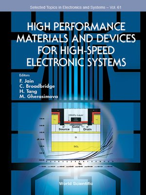 cover image of High Performance Materials and Devices For High-speed Electronic Systems