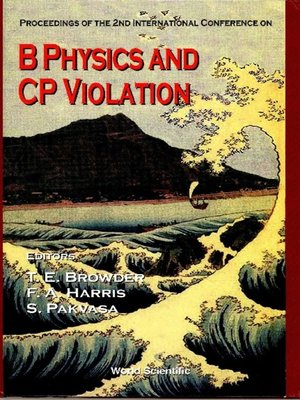 cover image of B Physics and Cp Violation