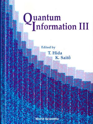 cover image of Quantum Information Iii, Procs of the Third International Conf