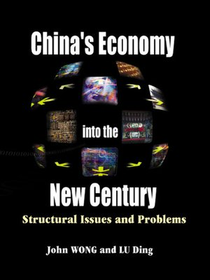 cover image of China's Economy Into the New Century
