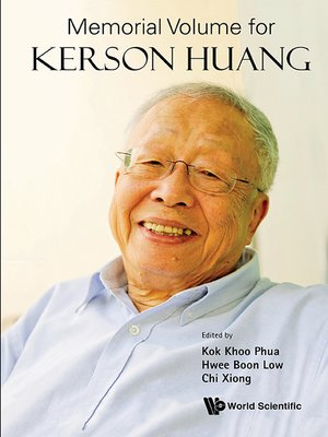 cover image of Memorial Volume For Kerson Huang