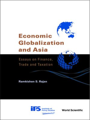 cover image of Economic Globalization and Asia
