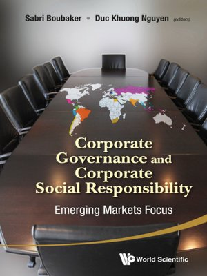 cover image of Corporate Governance and Corporate Social Responsibility