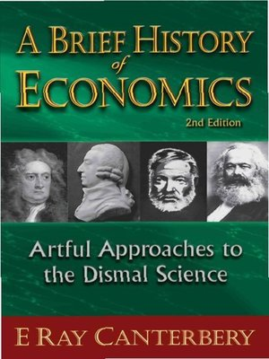 cover image of A Brief History of Economics