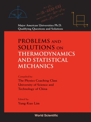 cover image of Problems and Solutions on Thermodynamics and Statistical Mechanics
