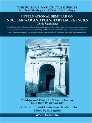 cover image of International Seminar On Nuclear War and Planetary Emergencies--38th Session