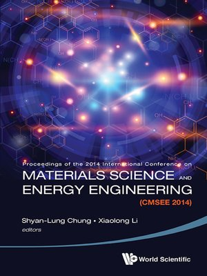 cover image of Materials Science and Energy Engineering (Cmsee 2014)--Proceedings of the 2014 International Conference