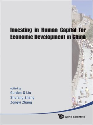 cover image of Investing In Human Capital For Economic Development In China