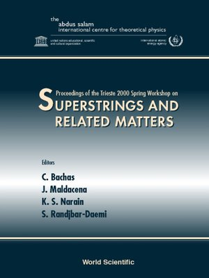 cover image of Superstrings & Related Matters, Procs of the Trieste 2000 Spring Workshop